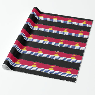 Kiribati Flag Wrapping Paper
