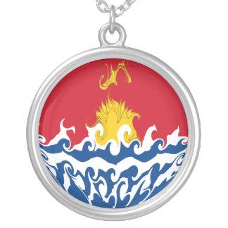 Kiribati Gnarly Flag Pendant