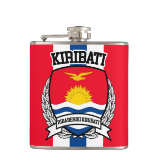Kiribati Hip Flask