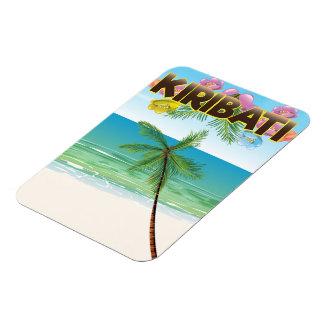 Kiribati Island travel poster Magnet