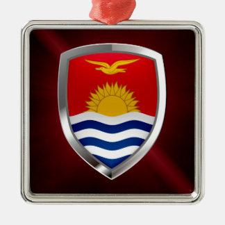 Kiribati Metallic Emblem Metal Ornament