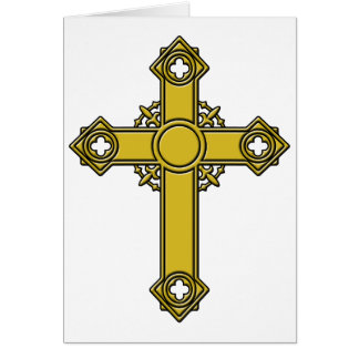 Kirishitan Cross embossed Card