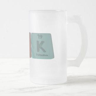 Kirk as Potassium Frosted Glass Beer Mug