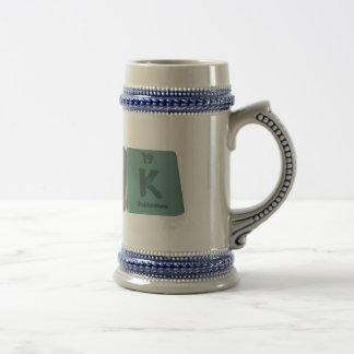 Kirk as Potassium Iridium Potassium Beer Stein