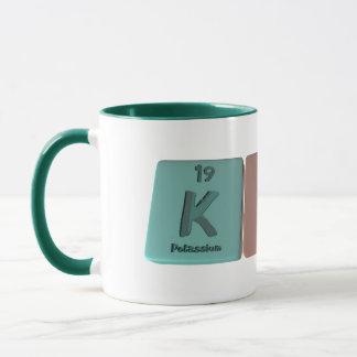 Kirk as Potassium Iridium Potassium Mug