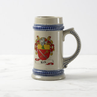 Kirk Coat of Arms Stein - Family Crest