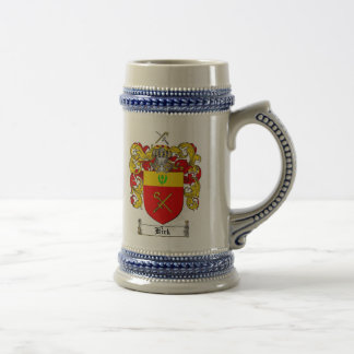 Kirk Coat of Arms Stein / Kirk Family Crest Stein
