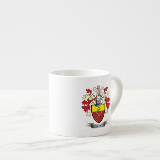 Kirk Family Crest Coat of Arms Espresso Cup