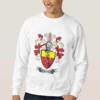 Kirk Family Crest Coat of Arms Sweatshirt