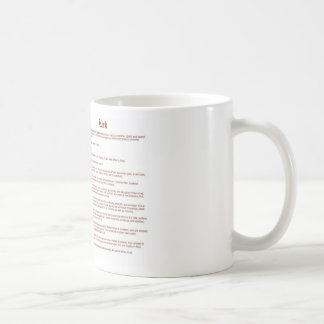 kirk (scottish(meaning)) coffee mug