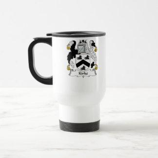 Kirke Family Crest Travel Mug
