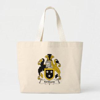 Kirkland Family Crest Canvas Bags