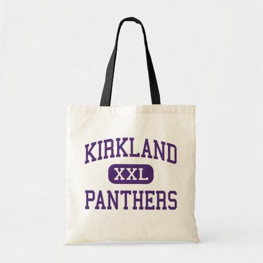 Kirkland - Panthers - Junior - Kirkland Washington Canvas Bags