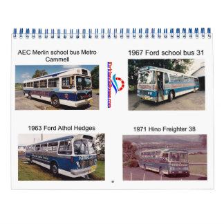 Kirklands 1960s and 1970s Buses Calendar