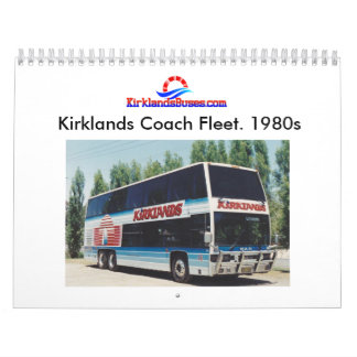 Kirklands Bus and Coach Fleet Calendar