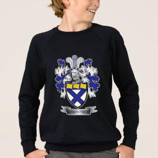 Kirkpatrick Family Crest Coat of Arms Sweatshirt