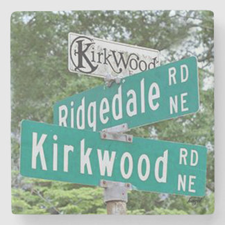 Kirkwood Ridgedale,Atlanta Georgia. Stone Coaster