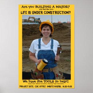 Kirsten Construction Poster
