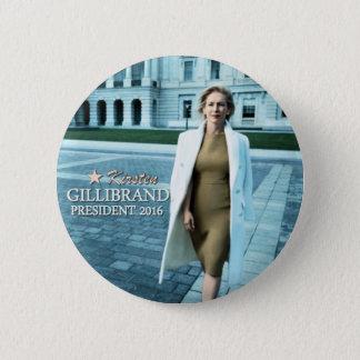 Kirsten Gillibrand for President 2016 2 Inch Round Button