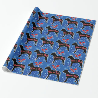 Kiss a Bull Wrapping Paper
