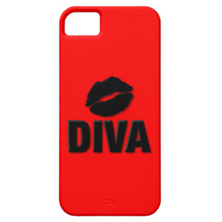Kiss A Diva iPhone 5 Cover