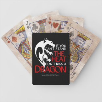 Kiss a Dragon playing cards
