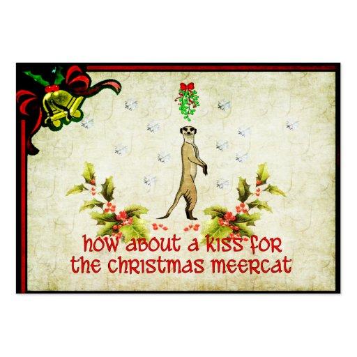 Kiss A Meerkat Business Cards