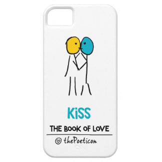 Kiss by The Poeticon iPhone 5 Cases