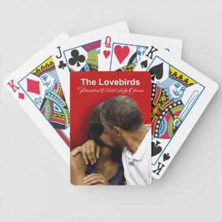 KISS CAM Lovebirds President & First Lady Obama Poker Deck