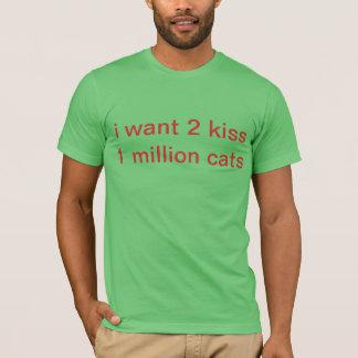 kiss cats T-Shirt