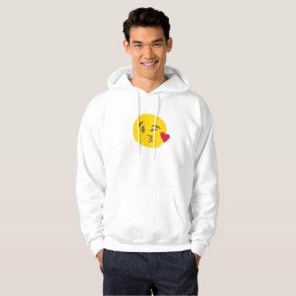 kiss emoji mens hoodie hooded sweatshirt hoody