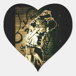Kiss Eternal Heart Sticker