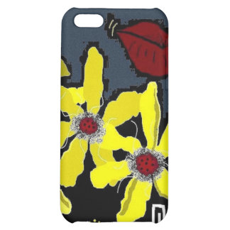 KISS FLORAL IPHONE CASE iPhone 5C COVERS