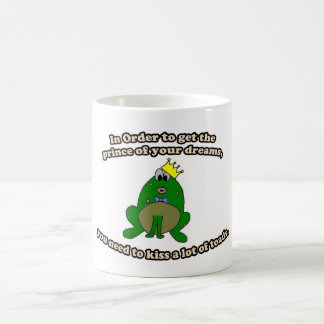 Kiss Frogs Mug