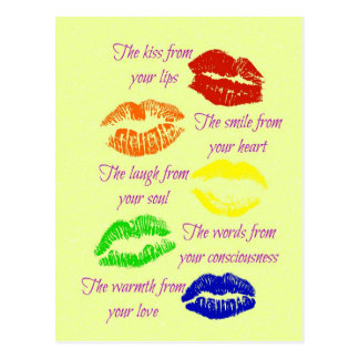 Kiss From Your Lips Postcard