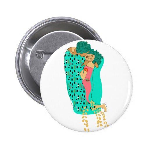 Kiss Kiss Pinback Buttons