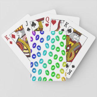 Kiss Kiss Playing Cards