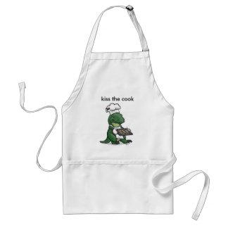 kiss, kiss the cook standard apron