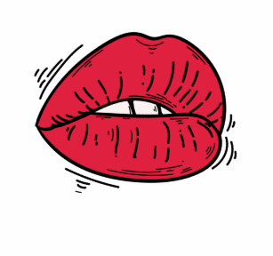 Kissing Lips Emoji Drinkware   Zazzle ca