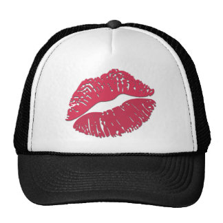 Kiss Mark Emoji Trucker Hat