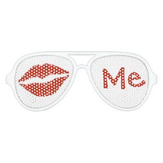 Kiss Me Aviator Sunglasses