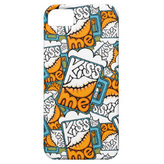 kiss me - beer icon iPhone 5 covers