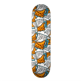 kiss me - beer icon skate board deck