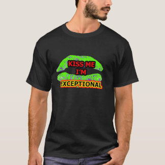 KISS ME EXCEPTIONAL Black Yellow Red The MUSEUM Za T-Shirt