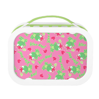 Kiss me frog lunch box