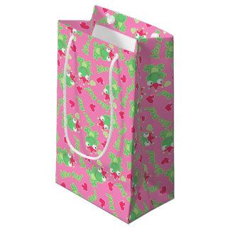 Kiss me frog small gift bag