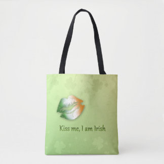 Kiss Me I am Irish - All-Over-Print Tote Bag