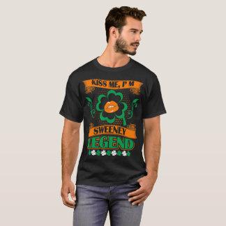 Kiss Me I Am Sweeney Legend St Patrick Irish Shirt