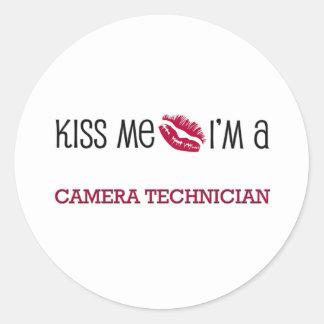 Kiss Me I'm a CAMERA TECHNICIAN Stickers