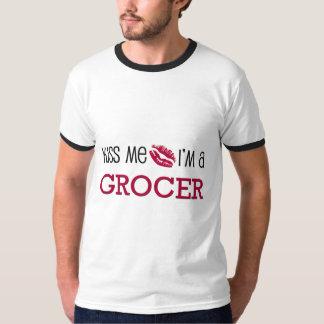 Kiss Me I'm a GROCER T-Shirt